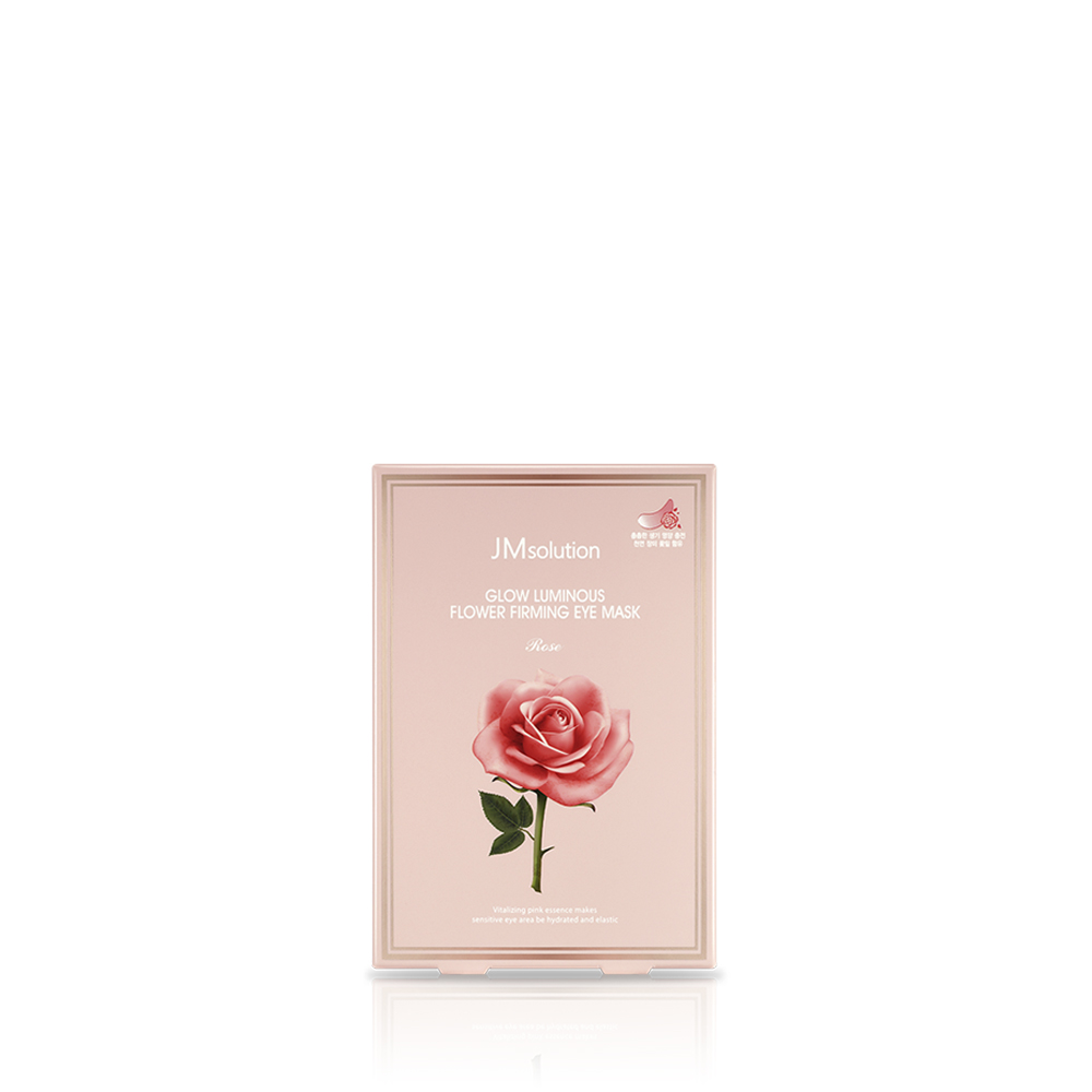 GLOW LUMINOUS FLOWER FIRMING EYE MASK Rose